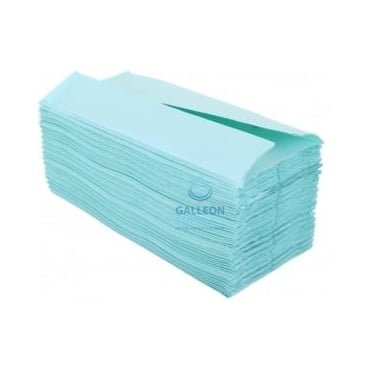1 Ply - Green - C-Fold - Paper Hand Towels