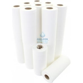 "10"" Wiper Rolls - 2 Ply - White"