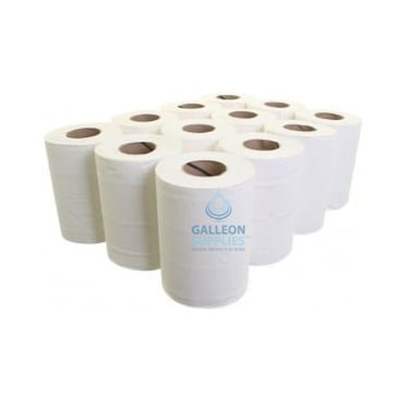 2 Ply White Mini Centrefeed Rolls - Pallet