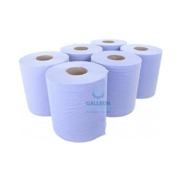 3 Ply Premium Blue Centrefeed Rolls