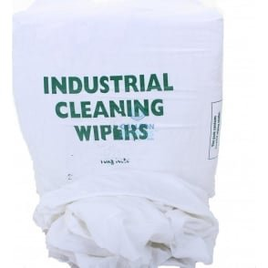 Cleaning Rags - Hotel Bed Linen - White