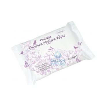 Feminine Hygiene Wipes - Flushable