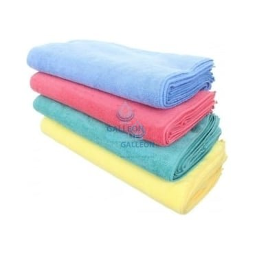Mixed Colour Microfibre Cloths