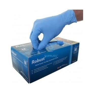 Robust - Nitrile Gloves - Powder Free