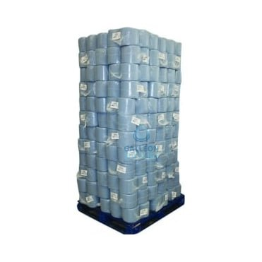 PALLET OFFER : £5.19 PER CASE -Value 2 Ply Blue Centrefeed Rolls
