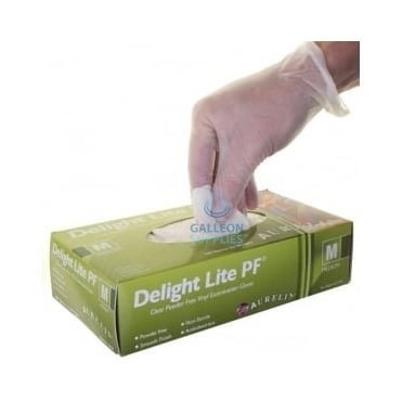 Value Delight Lite - Vinyl Gloves - Powder Free