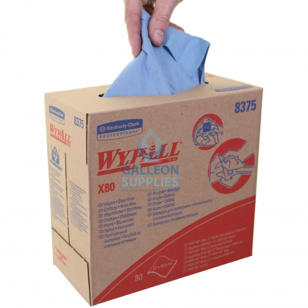 Kimberly Clark Wypall X 80 Pop Up Boxes Galleon Supplies